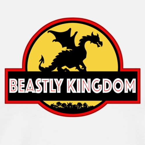 Beastly Kingdom JP Logo - Men's Premium T-Shirt