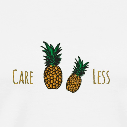 Careless Pineapples - Men's Premium T-Shirt