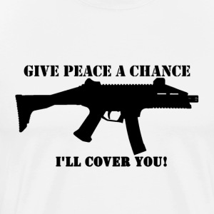 Scorpion Evo - Give Peace a Chance - Men's Premium T-Shirt