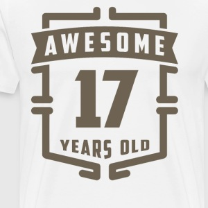 Awesome 17 Years Old - Men's Premium T-Shirt
