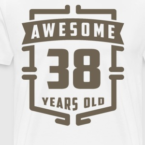 Awesome 38 Years Old - Men's Premium T-Shirt