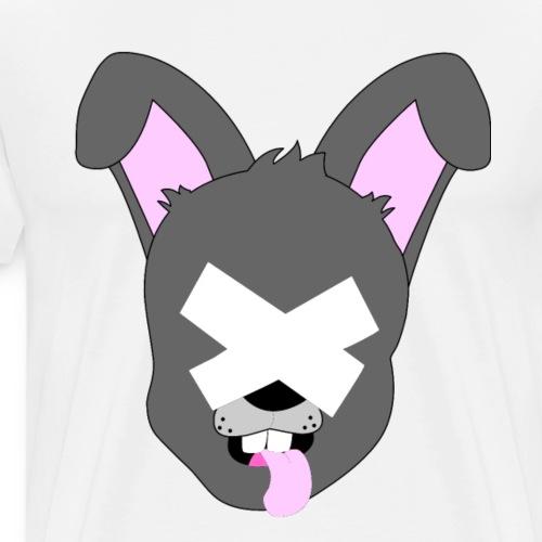 Grey XRabbit - Men's Premium T-Shirt