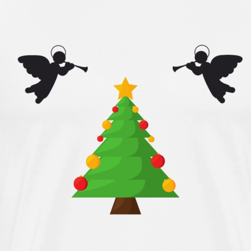 Angel Tree - Men's Premium T-Shirt