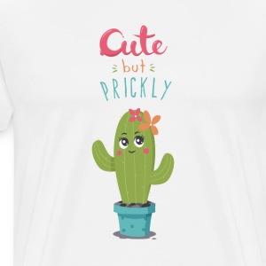 Cute But Prickly - Men's Premium T-Shirt