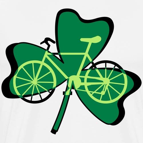 Shamrock Bicycle - Men's Premium T-Shirt