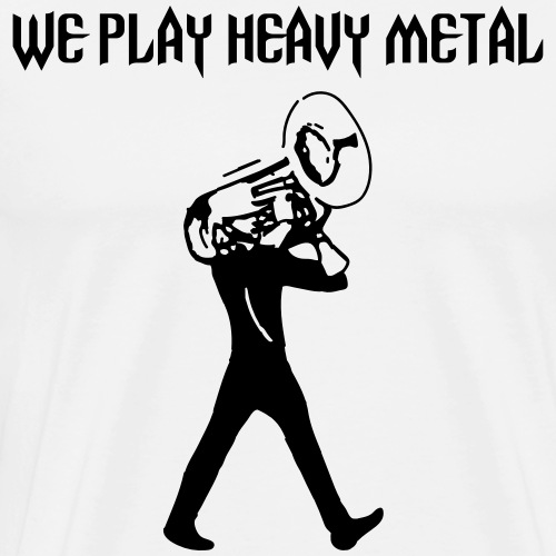 Play Heavy Metal - Men's Premium T-Shirt
