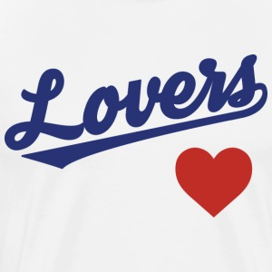 Lovers Heart - Men's Premium T-Shirt