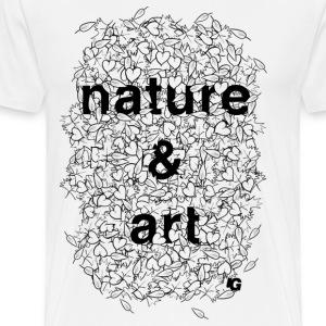 Urban Gorilla Wear Nature & Art B&W - Men's Premium T-Shirt