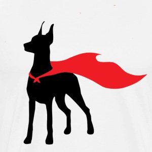 Super Doberman - Men's Premium T-Shirt