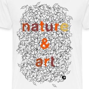 Urban Gorilla Wear Nature & Art Autumn colors - Men's Premium T-Shirt