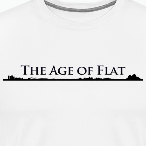 The Age Of Flat - Men's Premium T-Shirt