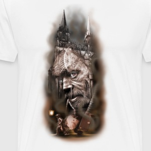 Church and the collector - Men's Premium T-Shirt