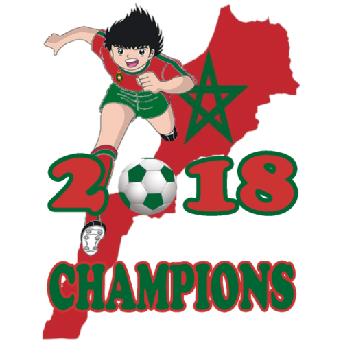 Morocco World Cup Champions 2018 - Men's Premium T-Shirt