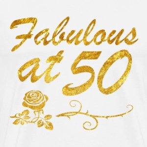 Fabulous at 50 years - Men's Premium T-Shirt
