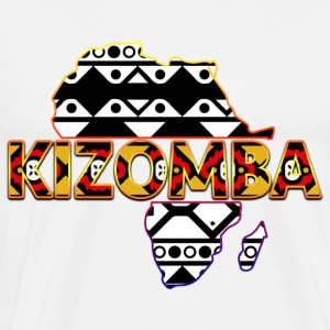 Kizomba_map_2 - Men's Premium T-Shirt