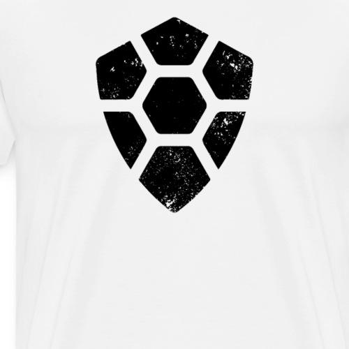 Turtle Coin Logo Distressed Tshirt (TRTL) - Men's Premium T-Shirt