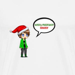 Merry Christmas Gamerz - Men's Premium T-Shirt