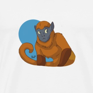 Colombian Red Howler Monkey - Men's Premium T-Shirt