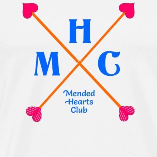 Mended hearts club - Men's Premium T-Shirt