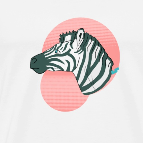 Grevy's Zebra - Men's Premium T-Shirt