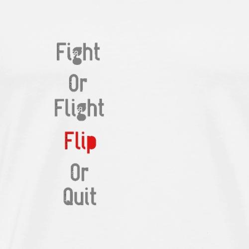 Fight Or flight S2 - Men's Premium T-Shirt