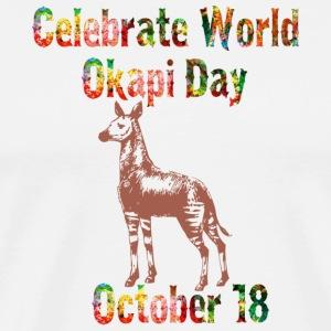 World Okapi Day Celebration T-Shirt and Gifts - Men's Premium T-Shirt