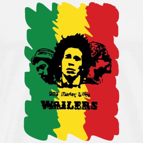 Wailing Wailers rasta - Men's Premium T-Shirt
