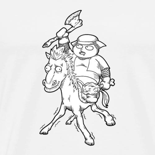 Sir Eat-a-lot! - Men's Premium T-Shirt