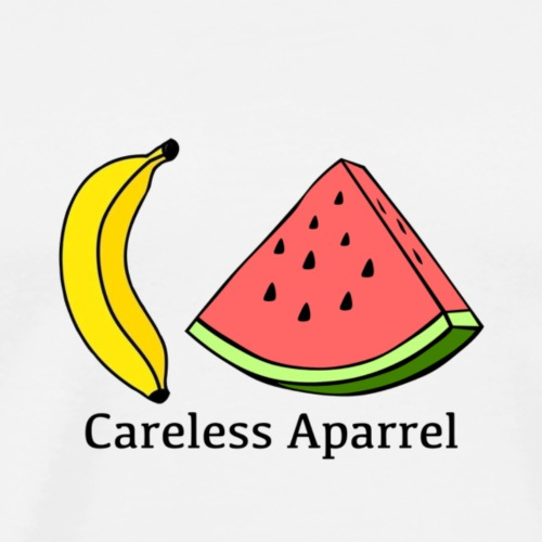 CA careless fruit - Men's Premium T-Shirt