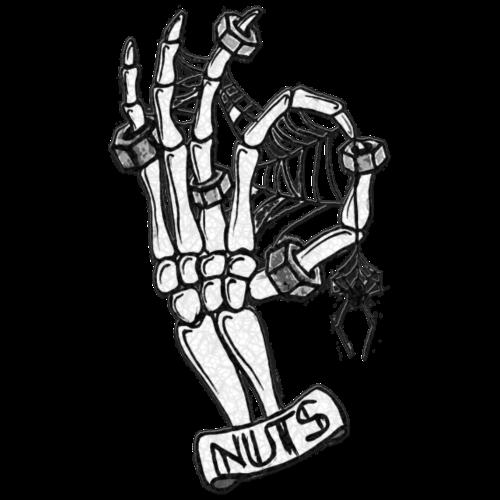 Nuts skeleton - Men's Premium T-Shirt