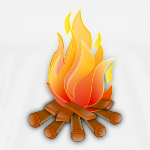 Campfire design - Men's Premium T-Shirt