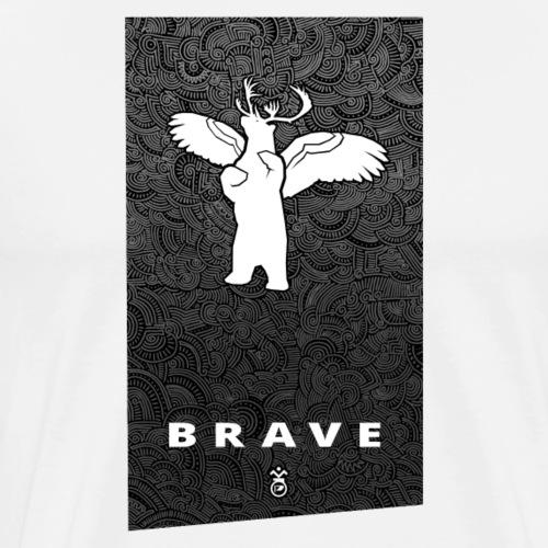 Banner BRAVE - Men's Premium T-Shirt