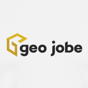 GEO Jobe Corp Logo - Black Text - Men's Premium T-Shirt