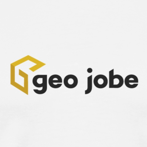 GEO Jobe Corp Logo - Black Text - Men's Premium T-Shirt