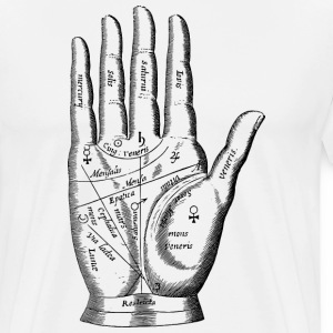 Palm Reader - Men's Premium T-Shirt