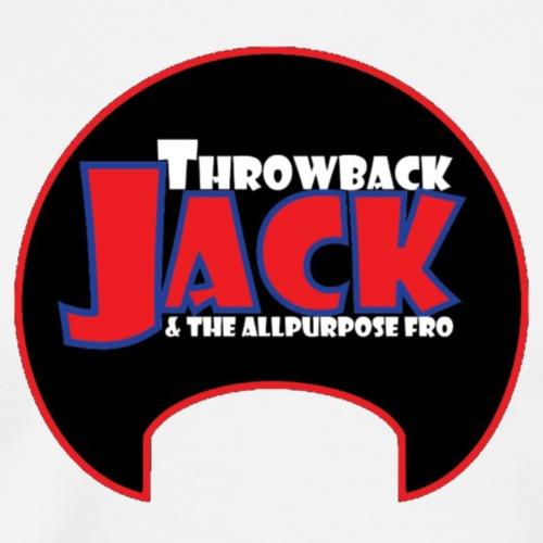 Throwback Jack & the Allpurpose Fro - Men's Premium T-Shirt