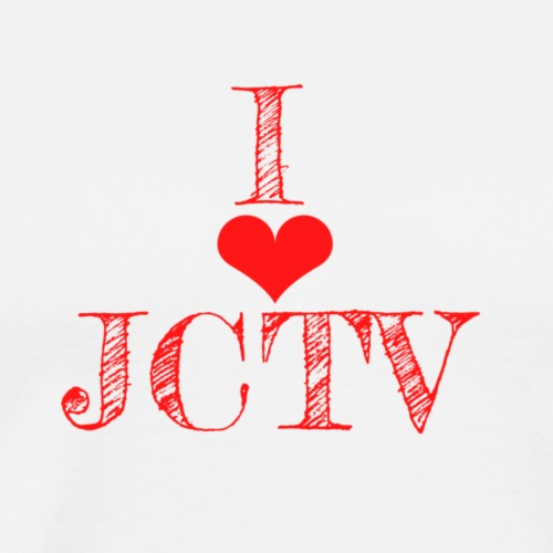 I love JCTV - Men's Premium T-Shirt