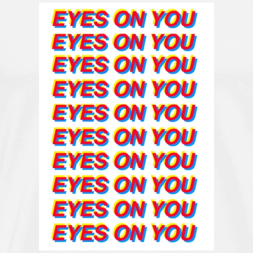 EYES ON YOU! GOT7 - Men's Premium T-Shirt
