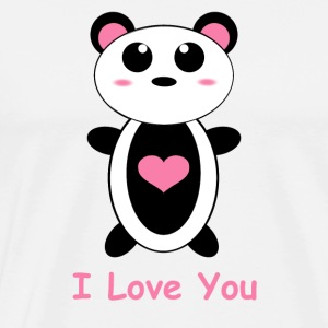Panda Love - Men's Premium T-Shirt