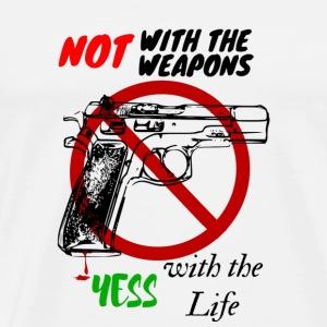 NO GUN - Men's Premium T-Shirt