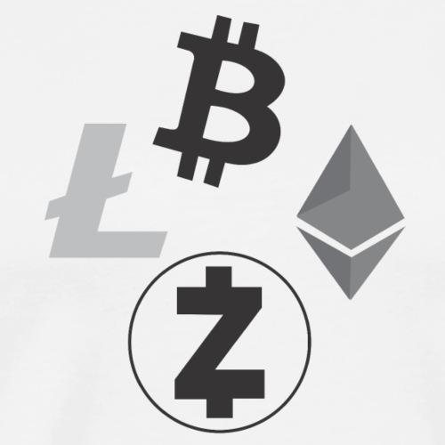 Crypto Cluster - Men's Premium T-Shirt