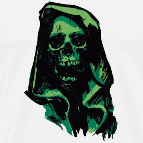Death Sea-green - Men's Premium T-Shirt