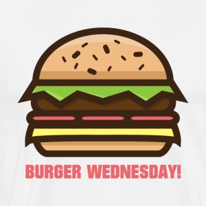 Burger Wednesday! - Men's Premium T-Shirt