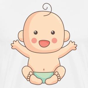 Baby Cute - Men's Premium T-Shirt