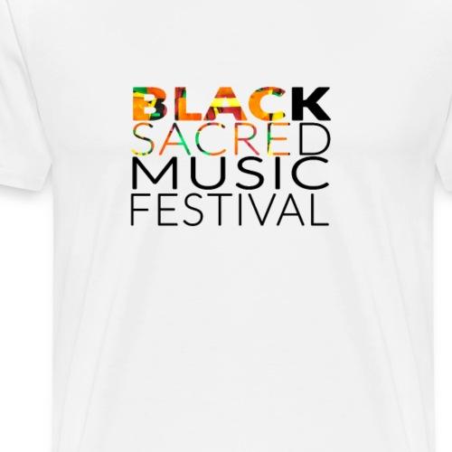 Black Sacred Music Festival 2018 - Men's Premium T-Shirt