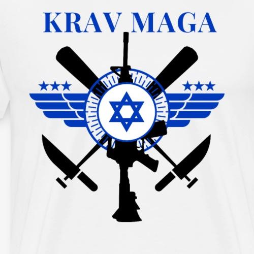Krav Maga - Sticks Knives Guns - Men's Premium T-Shirt