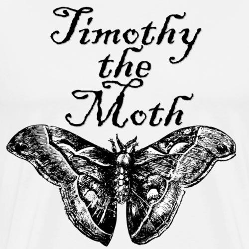 Timothy the Moth - Men's Premium T-Shirt