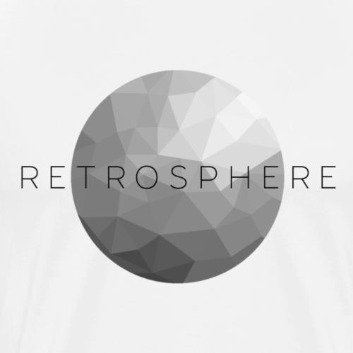 Retrosphere New Logo Monochrome - Men's Premium T-Shirt