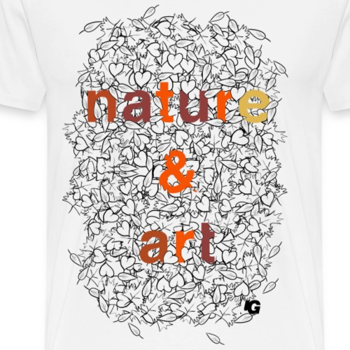 Urban Gorilla Wear Nature & Art Autumn colors - Men's Premium T-Shirt