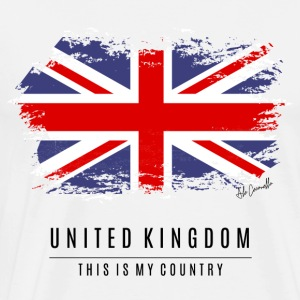 UNITED KINGDON FLAG - THIS IS MY COUNTRY - Men's Premium T-Shirt